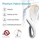 Garment Steamer Handheld , Clothes Steamer, Yoleo Portable Travel Steamer for Clothes with 2 Brushes, 20s Heat-up Time, Compact for Home Office, 1000W Gray