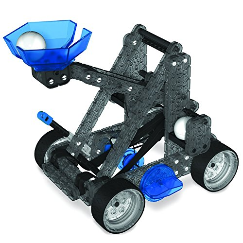 Vex Robotics Construction Set Catapult Launcher & Powered Motor Kit Add On STEM Starter Engineering and Mathematics Bundle]()