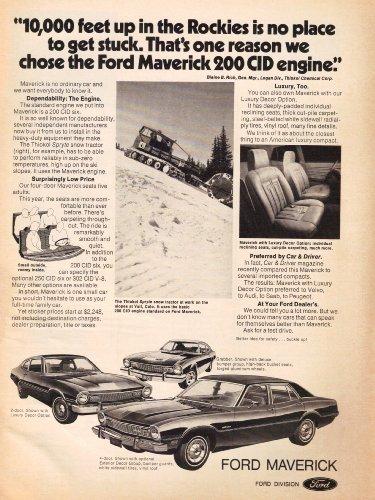 Vintage Tractors Magazine - 1973 Ford Maverick