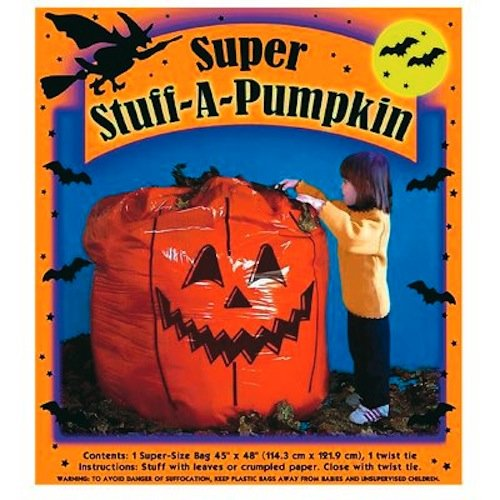 SUNHILL INDUSTRIES-IMPORT C503 Stuff A Pumpkin Bag