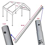 "Cross Brace Pole 58 3/4"" for 10' X 20' Caravan Canopy Domain Carport Garage Parts B1"