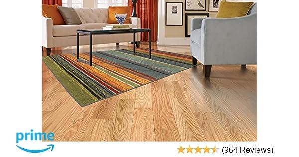 Amazon Com Mohawk Home New Wave Rainbow Printed Rug 1 8x2 10