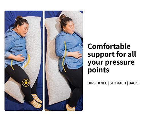 Coop Home Goods Adjustable Body Pillow