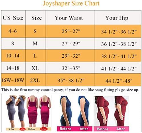 Joyshaper Thigh Slimmer Shapewear Shorts for Women Tummy Control Shorts High Waisted Shaper Shorts Panties