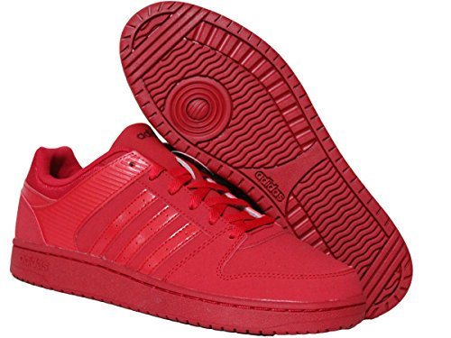 Adidas VS Hoopster Red Sneaker Schuhe 37 1/3