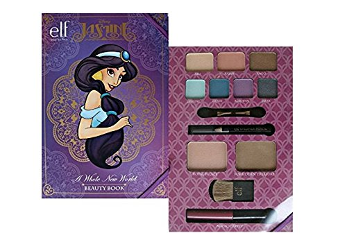 Princess Disney Makeup (ELF Jasmine Face Makeup Set Disney Princess Beauty Book Aladdin Arabian Night by Disney E.L.F.)