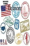 Delaware (6 x 9 Blank Travel Journal, Diary & Notebook) (Volume 6)