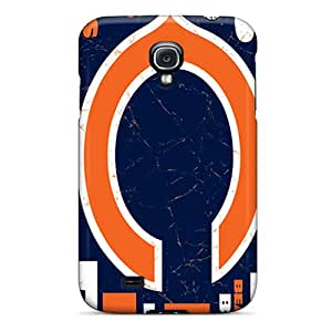 Tpu Shockproof/dirt-proof Chicago Bears Cover Case For Galaxy(s4)