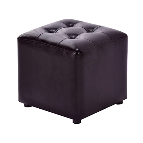 Amazon.com: GRJXMD Black Poffee Coffee Table Stool ...