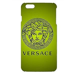 Custom Design Personalized Iphone 6PLUS/6S PLUS 3D Hard Plastic Luxury Versace Logo Phone case_Green Matcha