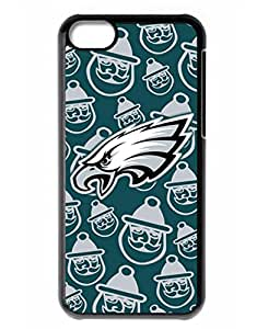 American Football Eagles Pattern iPhone 5C Case Black