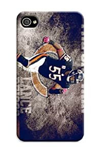 Iphone 6 Plus Protective Case,Brilliant Football Iphone 6 Plus Case/Chicago Bears Designed Iphone 6 Plus Hard Case/Nfl Hard Case Cover Skin for Iphone 6 Plus