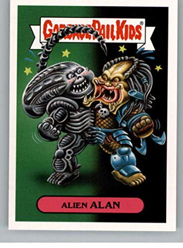 2018 Topps Garbage Pail Kids Oh The Horror-ible Modern Sci-Fi Sticker A NonSport #1A ALIEN ALAN ()