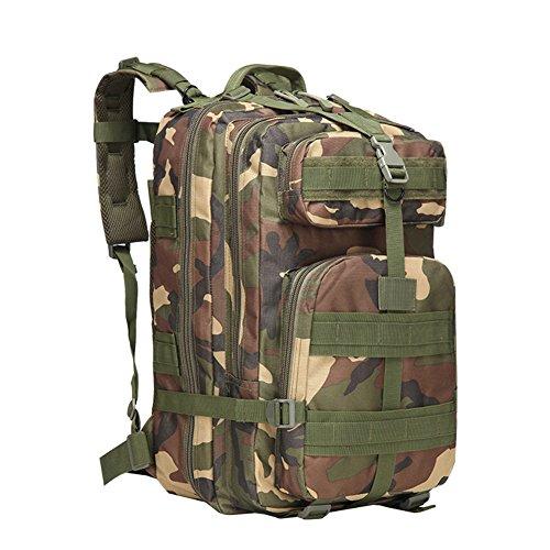 Outdoor Kombination Rucksack Camouflage großen Sport Tactical Rucksack Camping Wandern Klettern Tasche Camouflage5