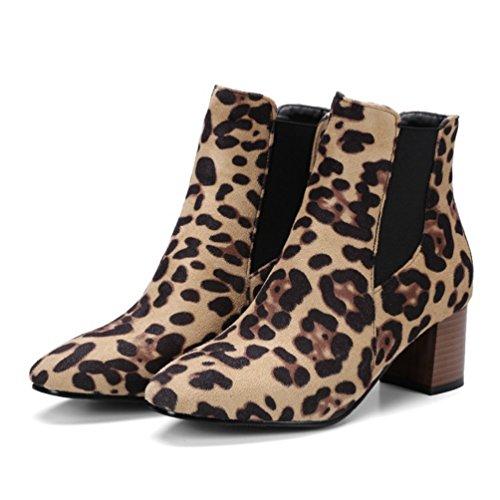 Bottines Classiques Heheja Loisirs Bottes Chaude Hiver Femme Chaussures w4g5Ig