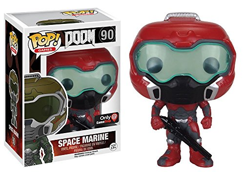 Funko Pop! Games DOOM Elite Space Marine #90 (Exclusive) by Fu