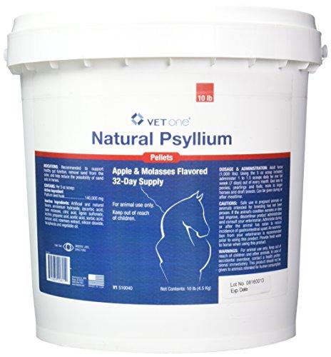 51VdUxIyigL - Vet One Psyllium Pellets (10 lbs)