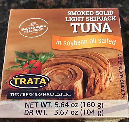 (Tuna - Smoked Solid Light Skipjack - Pack of 1)