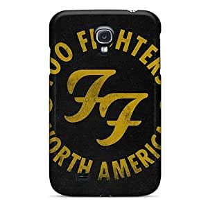 Awesome Foo Fighters Flip Case With Fashion Design For Galaxy S4 by lolosakes