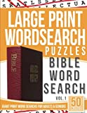 Large Print Wordsearch Puzzles Bible Word Search: Giant Print Word Searches for Adults & Seniors