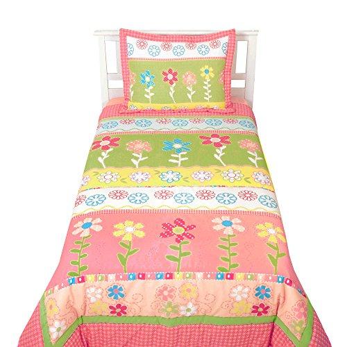 Flower Sumersault - My Lovely Garden 2 Piece Twin Bedding Set by Sumersault