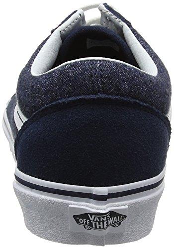 Old suiting Uomo Running Blu Scarpe Skool suede Vans dnIq0d