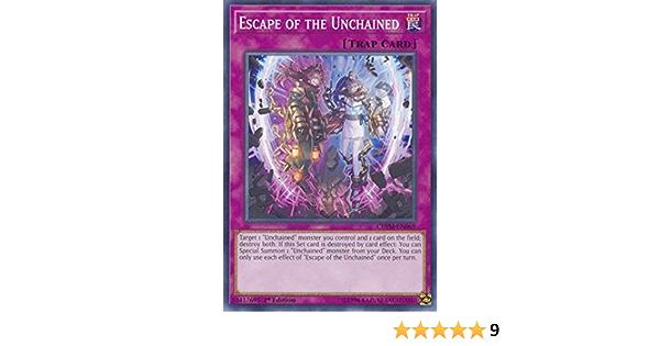 CHIM-EN069 Escape of the UnchainedUnlimitedCommon Card YuGiOh Chaos Impact