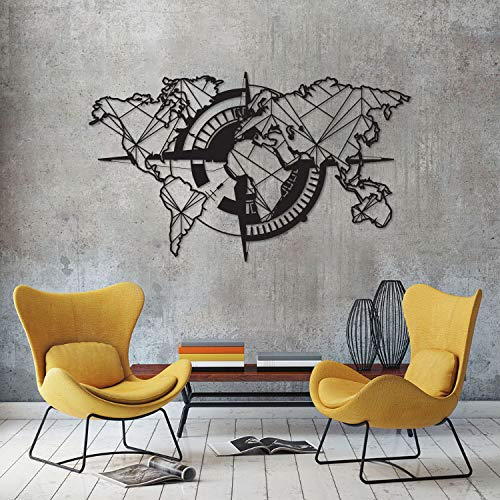 Tubibu Modern Wall Art, 100% Metal - Metalic World for sale  Delivered anywhere in Canada
