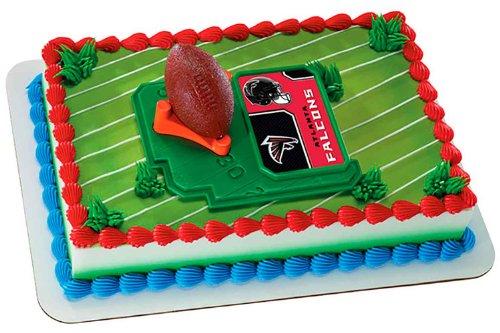 Falcon Easy Kit - NFL Atlanta Falcons Football with Tee-Cake Decorating Kit