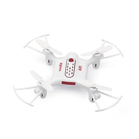 Mini RC Syma X21 Drone RTF 2.4 GHz 4 CH giroscopio de 6 ejes ...