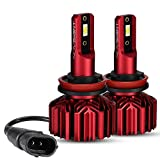 NOVSIGHT H11 H8 H9 LED Headlight Bulbs Customized LED Chips with B2 Copper
