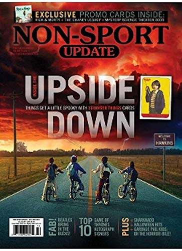 NEWEST GUIDE: Beckett Non-Sports Update Bi-Monthly Price Guide (October 5, 2018 release, Upside Down cover) from Beckett