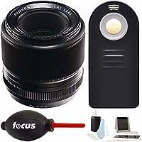 Fujifilm 60mm f/2.4 XF Macro Lens w/Focus Accessory Bundle