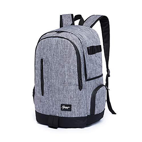 Ricky-H School Backpack, Denim Grey (RI013108)