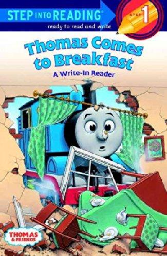 Thomas the Tank Engine: Set of 4 Step Into Reading Books Levels 1-2 (Thomas Comes to Breakfast: A Write-In Reader ~ Thomas Goes Fishing ~ Happy Birthday, Thomas! ~ James Goes Buzz, Buzz)