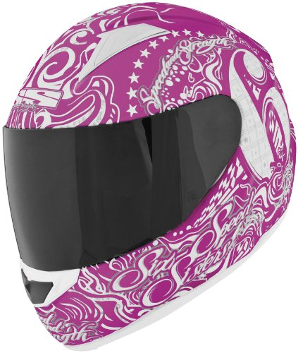 Speed & Strength SS1500 Six Speed Sisters Helmet , Distinct Name: Six Speed Sisters Pink, Primary Color: Pink, Helmet Type: Full-face Helmets, Helmet Category: Street, Size: Lg, Gender: Mens/Unisex 875700