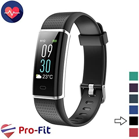 Pro-Fit VeryFitPro Fitness Tracker Color Screen Activity Tracker Heart Rate Sleep Monitor IP67 Waterproof Pedometer Watch ID130C