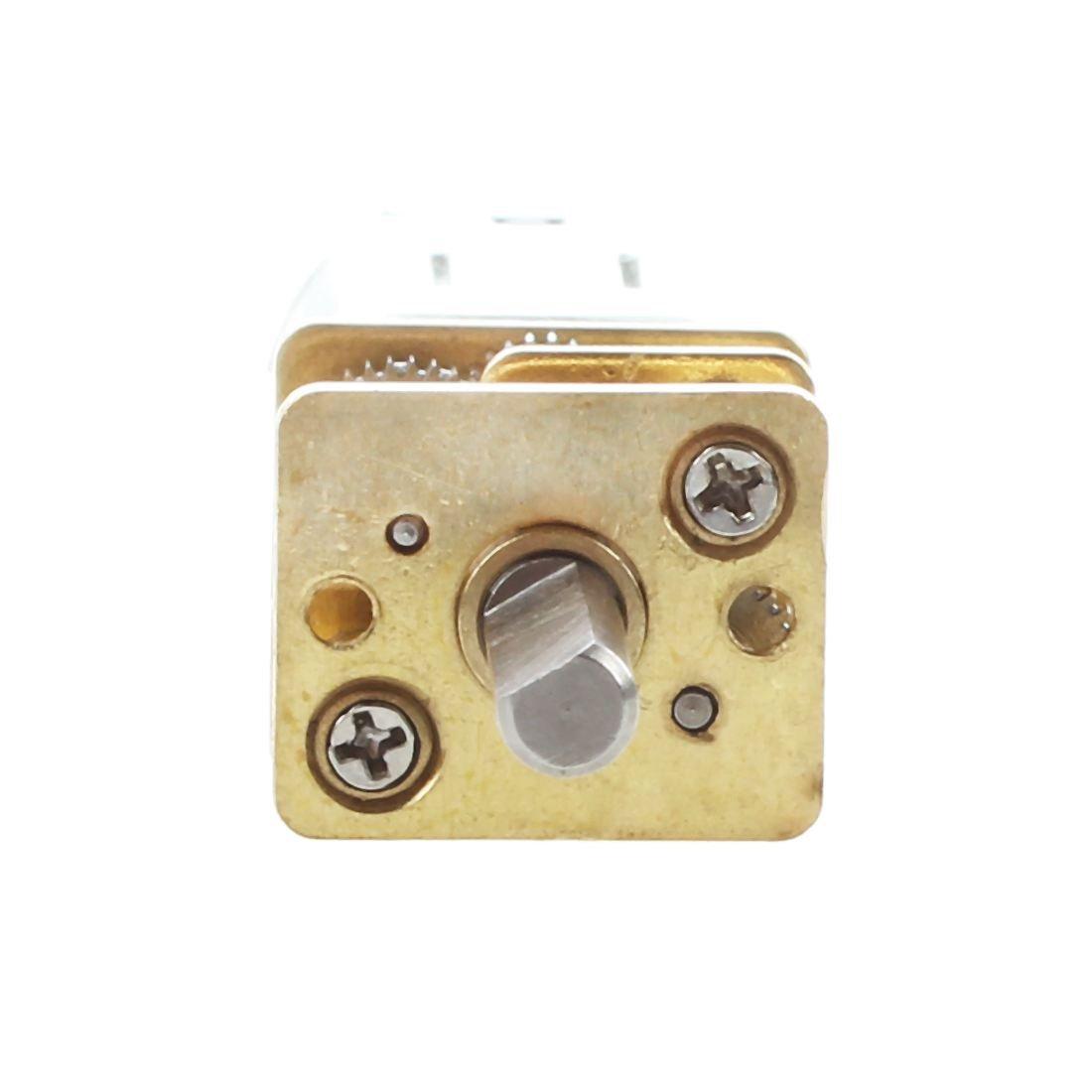 REFURBISHHOUSE DIY robot 60 RPM 6V 0.3A High momento torcente Mini CC elettrico motoriduttore