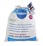 Ecozone Soap nuts - Indian Wash nuts - replaces laundry powder and detergents - great value 1kg bag - up to 330 washes