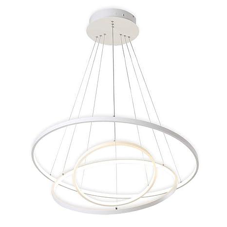 KOONTING Design Lámpara colgante LED circulares moderna ...