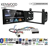 Volunteer Audio Kenwood DDX9904S Double Din Radio Install Kit with Apple CarPlay Android Auto Bluetooth Fits 2004-2006 Lincoln LS