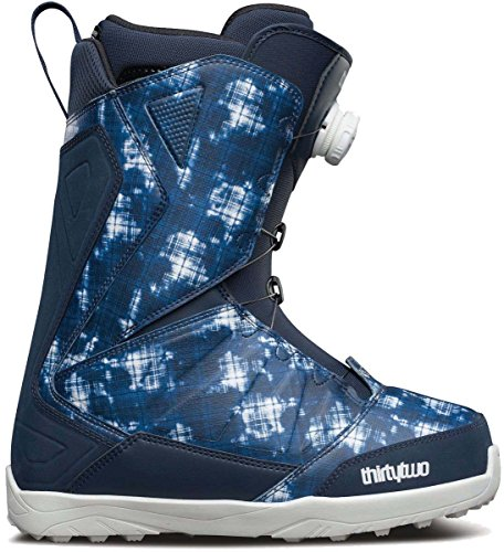 Thirty Two Lashed Boa Snowboard Boot 2016 - Men's Blue 10 (Two Mens Lashed Thirty)
