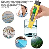 Wocume LCD Digital PH Meter,3 in 1 LCD Display Digital Water Quality Tester TDS Purity Meter 0-99℃