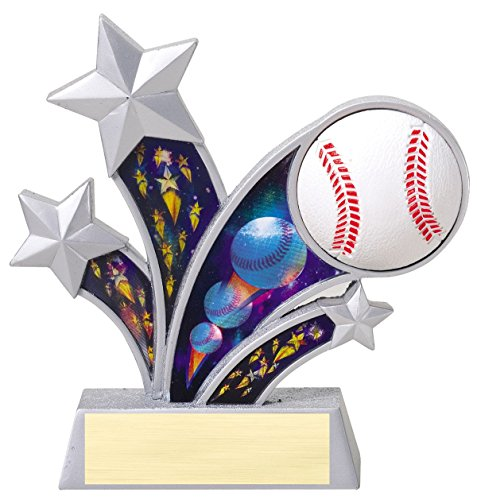 Rising Star Baseball Awards - Etch Workz Rising Star Baseball Trophy