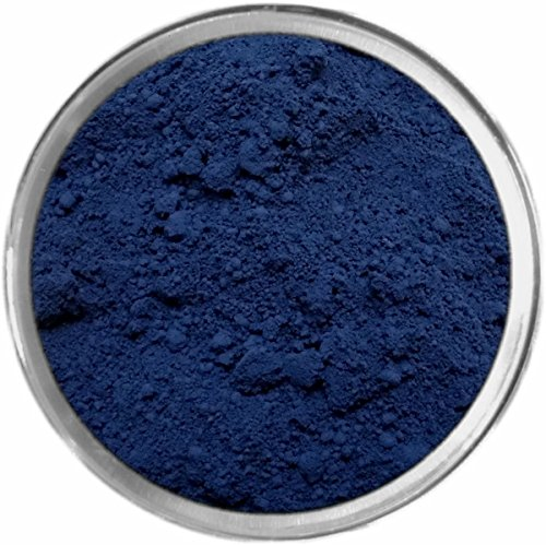 Navy Loose Powder Mineral Matte Multi Use Eyes Face Color Makeup Bare Earth Pigment Minerals Make Up Cosmetics By MAD Minerals Cruelty Free - 10 Gram Sized Sifter (Eye Shadow Mineral Powder)