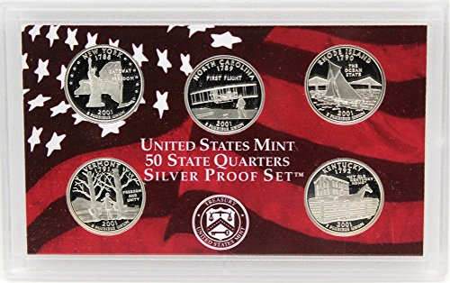 2001-S Silver State Quarters Proof Set
