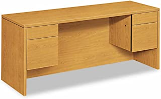 product image for HON COMPANY 10543CC 10500 Series Kneespace Credenza With 3/4-Height Pedestals, 72w x 24d, Harvest