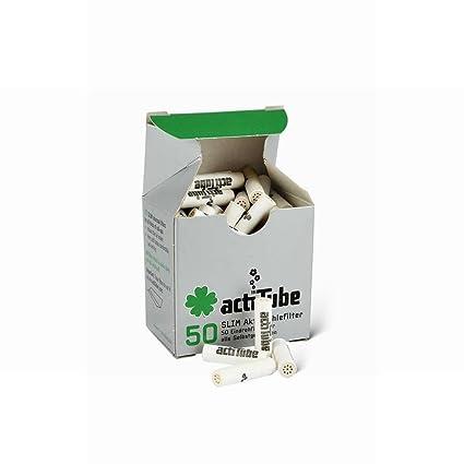 actiTube Slim Filtro de carbón activo 7,1 mm (1 x 50) novedad