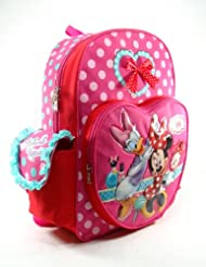 Minnie Mouse - Full Size 16 Large Backpack - Make Up 62600