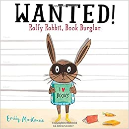 Image result for wanted ralfy rabbit book burglar